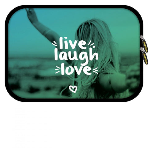 Live Laugh Love 8.5 inch Neoprene Tablet/iPad Sleeve
