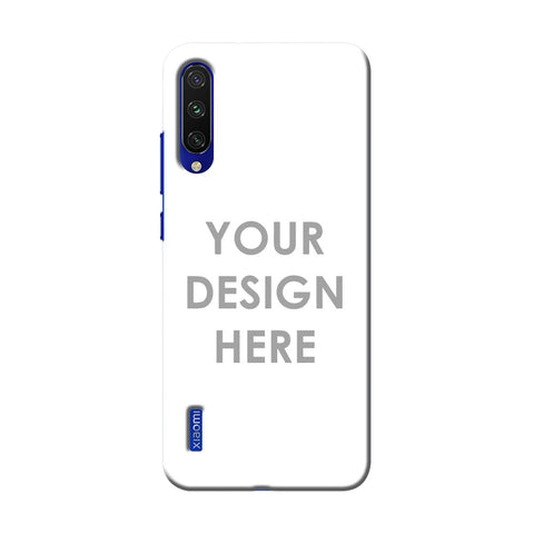 Custom Design It Yourself Slim Hard Shell Case For Xiaomi Mi A3