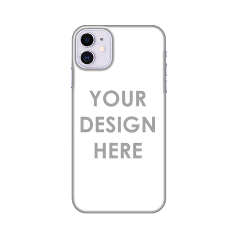 Custom Design It Yourself Slim Hard Shell Case For iPhone 11