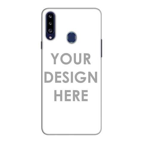 Custom Design It Yourself Slim Hard Shell Case For Samsung Galaxy A20s