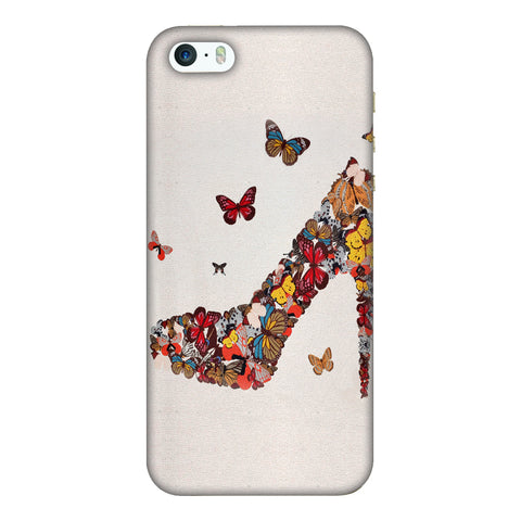 High Heels Slim Hard Shell Case For Apple iPhone 5-5S - AMZER  Print