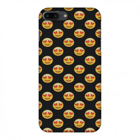 Emoji Love Slim Hard Shell Case For Apple iPhone 7 Plus - AMZER  Print