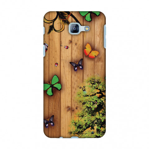 Bonsai Butterfly Slim Hard Shell Case For Samsung Galaxy A8 2016