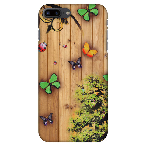 Bonsai Butterfly Slim Hard Shell Case For Apple iPhone 8 Plus