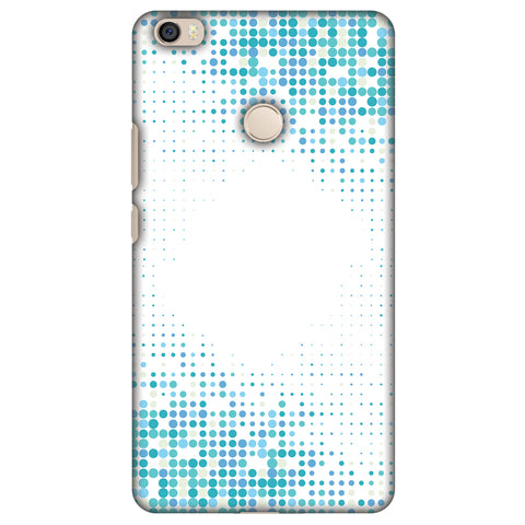 Blue Matrix Slim Hard Shell Case For Xiaomi Mi Max - AMZER Print