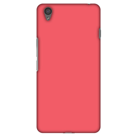 Amaranth Red Slim Hard Shell Case For OnePlus X