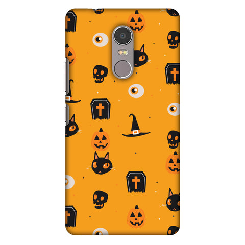 Spooky Collage Slim Hard Shell Case For Lenovo K6 Note