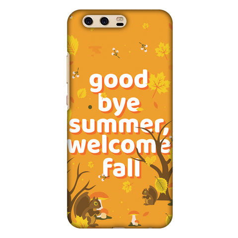 Goodbye Summer Slim Hard Shell Case For Huawei P10