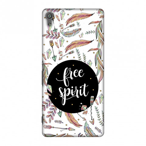 The Free Spirit Slim Hard Shell Case For Sony Xperia XA Ultra - AMZER  Print