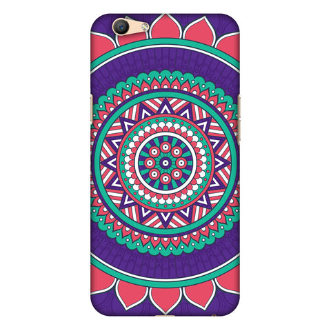 MAndala Beauty Slim Hard Shell Case For Oppo F1s - AMZER Print