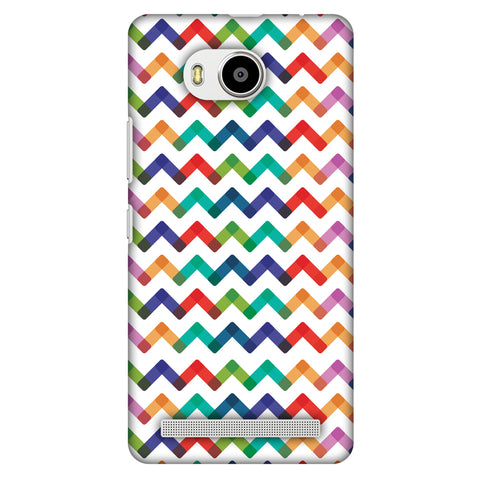 Chevron Chic 1 Slim Hard Shell Case For Lenovo A7700