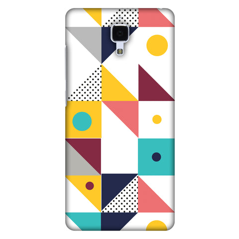 Chevron Chic 2 Slim Hard Shell Case For Xiaomi Mi 4 - AMZER  Print