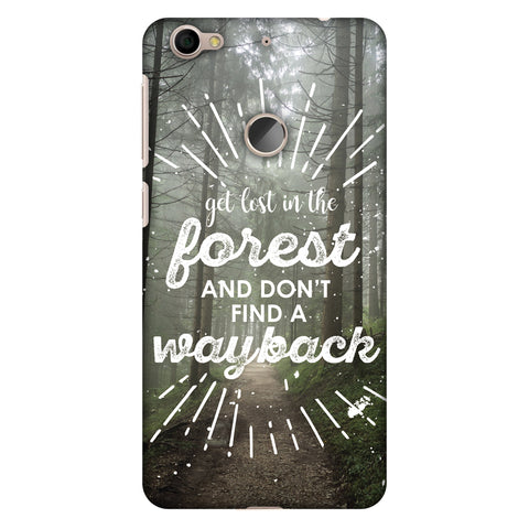 Lost In Forest Slim Hard Shell Case For LeEco Le 1S - AMZER Print