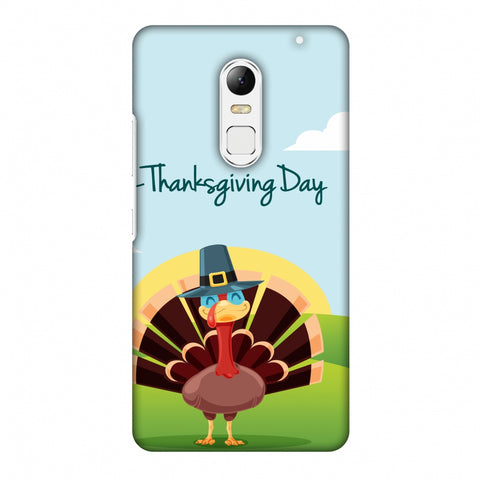Thanksgiving:Wise Turkey 2 Slim Hard Shell Case For Lenovo Vibe X3