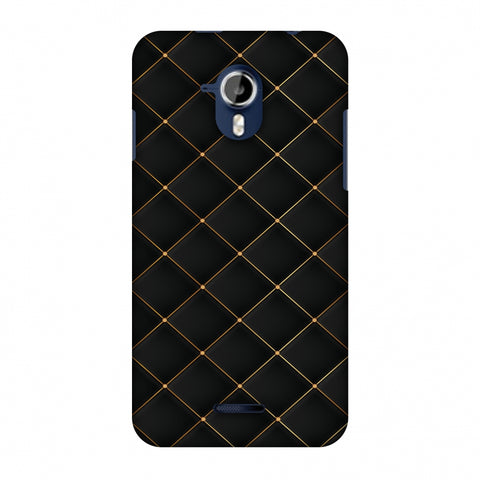 Golden Elegance Slim Hard Shell Case For Micromax Canvas Magnus A117 - AMZER Print