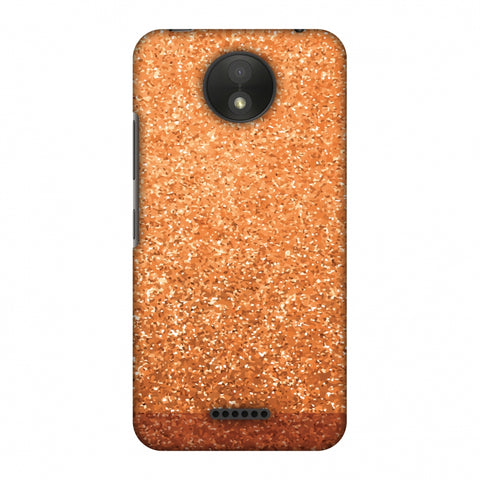 All That Glitters II Slim Hard Shell Case For Motorola Moto C Plus