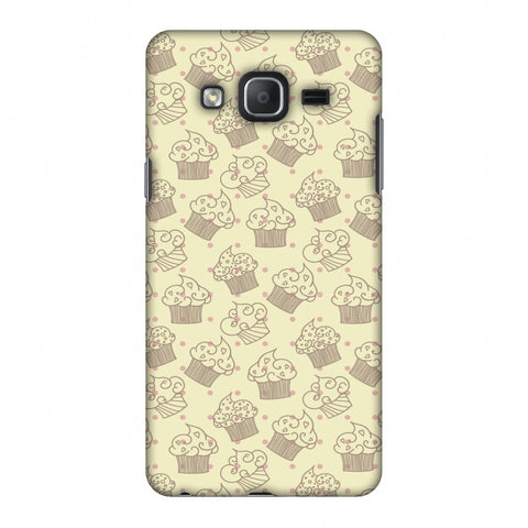 Soul Foods: Muffins Slim Hard Shell Case For Samsung Galaxy On 7 - AMZER Print