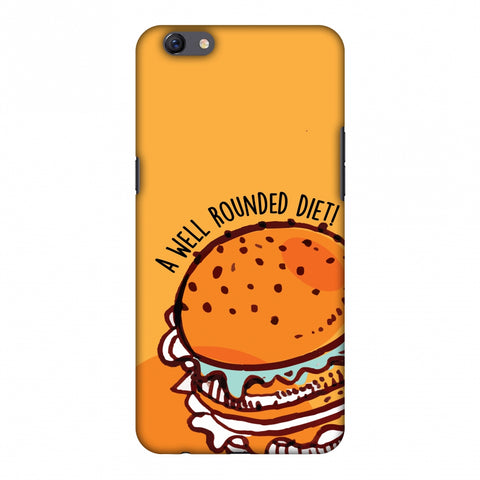 Soul Foods: Burger Slim Hard Shell Case For Oppo F3 Plus