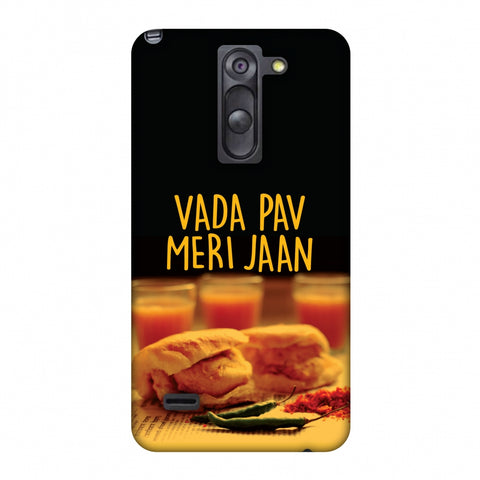 Vada Pav Meri Jaan! Slim Hard Shell Case For LG G3 Stylus D690