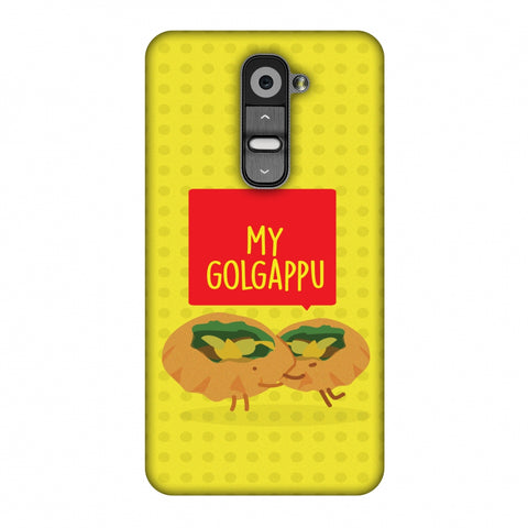 My Golgappu Slim Hard Shell Case For LG G2 D802