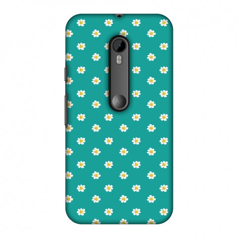 Pretty Patterns: Daisies Slim Hard Shell Case For Motorola Moto G 3rd Gen