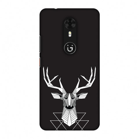 Geometric Deer Slim Hard Shell Case For Gionee A1