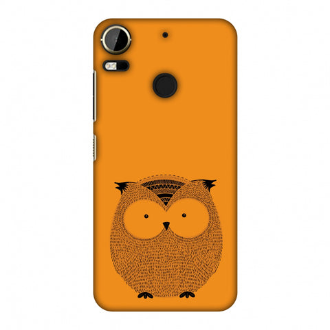 Sketches: Owl Slim Hard Shell Case For HTC Desire 10 Pro