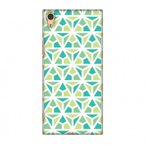 Pretty Patterns: Mozaics Slim Hard Shell Case For Sony Xperia XA1