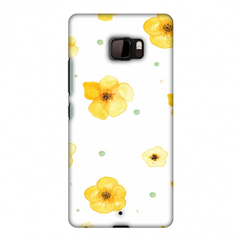 Pretty Patterns: Lilies Slim Hard Shell Case For HTC U Ultra - AMZER Print