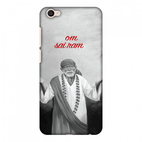 Om Sai Ram Slim Hard Shell Case For Vivo Y67 - AMZER  Print