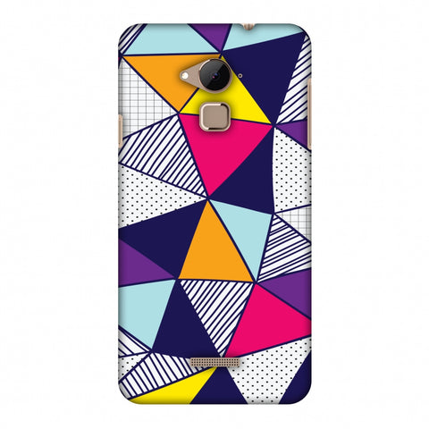 Polygon Fun 3 Slim Hard Shell Case For Coolpad Note 3