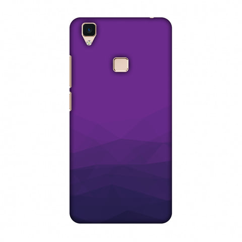 Polygon Fun 4 Slim Hard Shell Case For Vivo V3