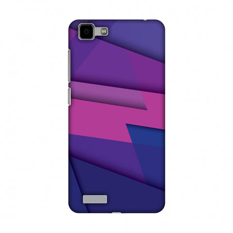 Intersections 2 Slim Hard Shell Case For Vivo Y27 - AMZER Print
