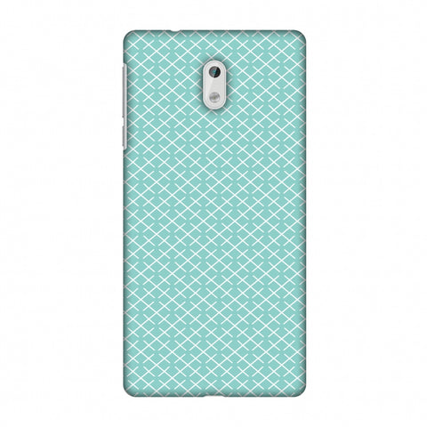 CheckeRed In Pastel Slim Hard Shell Case For Nokia 3 - AMZER Print
