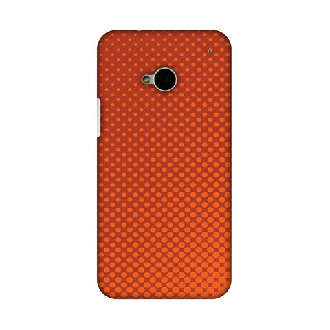 Vintage Dot Pop 2 Slim Hard Shell Case For HTC One M7