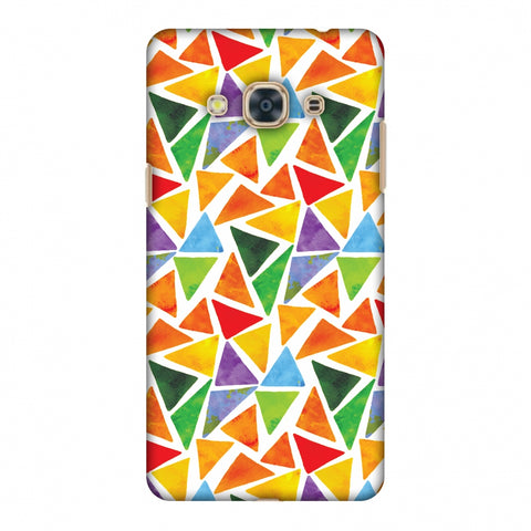 Bold Shapes Slim Hard Shell Case For Samsung Galaxy J3 Pro