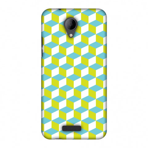 Hexamaze 2 Slim Hard Shell Case For Micromax Canvas Pace 4G Q416 - AMZER Print