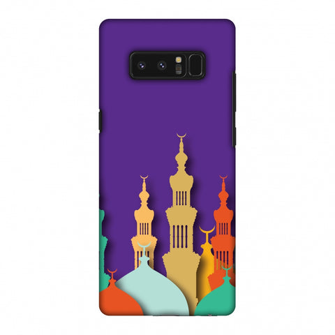 Places Of Worship 2 Slim Hard Shell Case For Samsung Galaxy Note 8 - AMZER Print