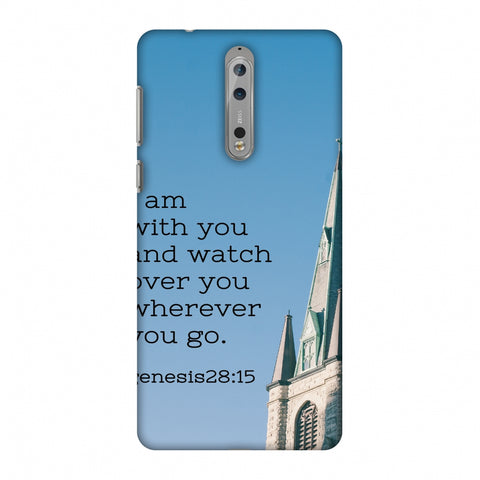 Bible Wisdom 4 Slim Hard Shell Case For Nokia 8 - AMZER Print