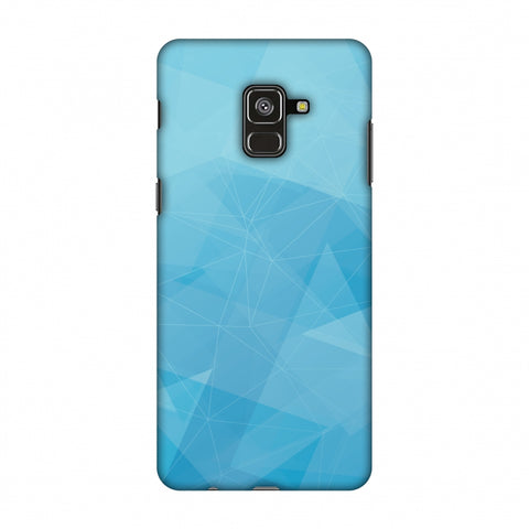 Polygon Fun 5 Slim Hard Shell Case For Samsung Galaxy A8 Plus