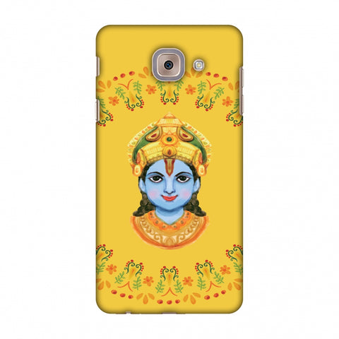 Almighty Krishna 3 Slim Hard Shell Case For Samsung Galaxy J7 Max - AMZER Print
