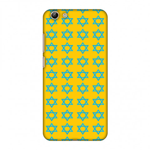Hanukkah Pattern 1 Slim Hard Shell Case For Vivo Y69