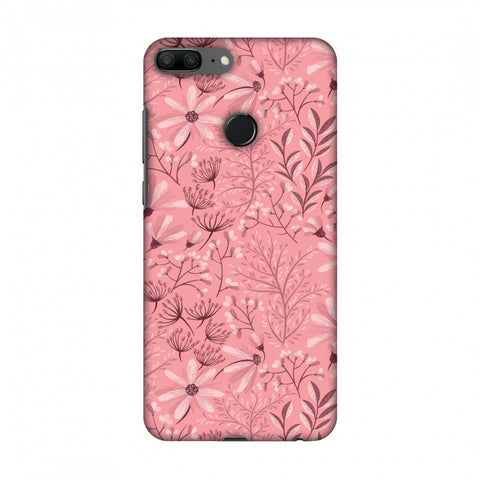 Pretty Flowers 3 Slim Hard Shell Case For Huawei Honor 9 Lite