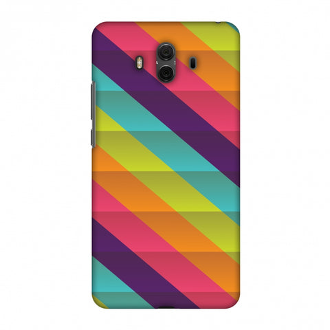 Bold Stripes 2 Slim Hard Shell Case For Huawei Mate 10