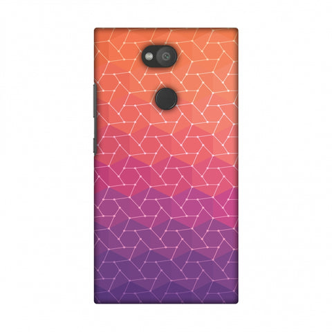 Funky Dot Pop 2 Slim Hard Shell Case For Sony Xperia L2