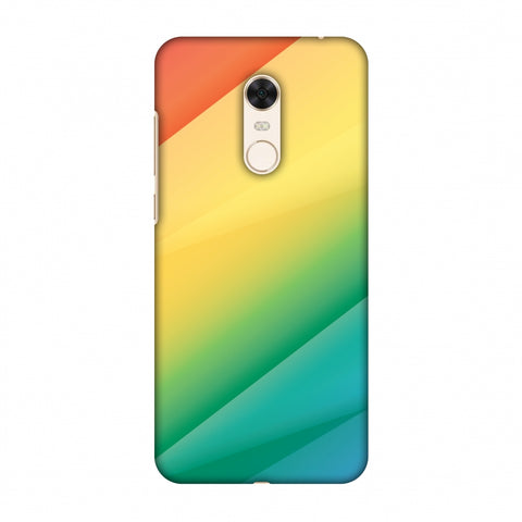 Intersections 9 Slim Hard Shell Case For Xiaomi Redmi Note 5 - AMZER Print