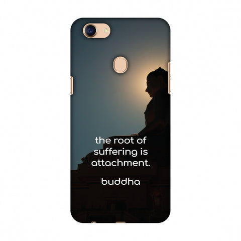 Buddha Quotes 5 Slim Hard Shell Case For Oppo F5 - AMZER  Print