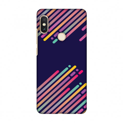 Stripes 2 Slim Hard Shell Case For Xiaomi Redmi Note 5 Pro