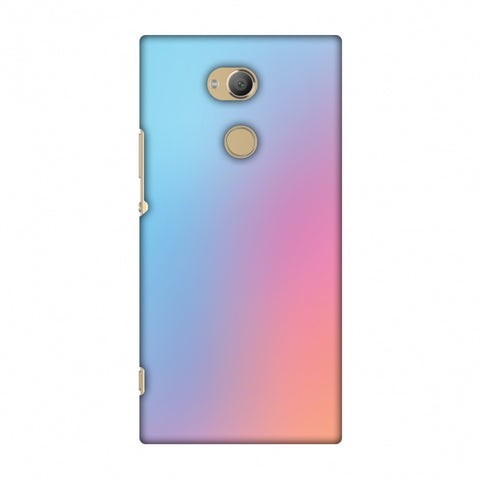 Blue Gradient Slim Hard Shell Case For Sony Xperia XA2 Ultra