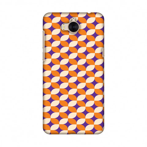 Geometric Flowers 2 Slim Hard Shell Case For Huawei Y5